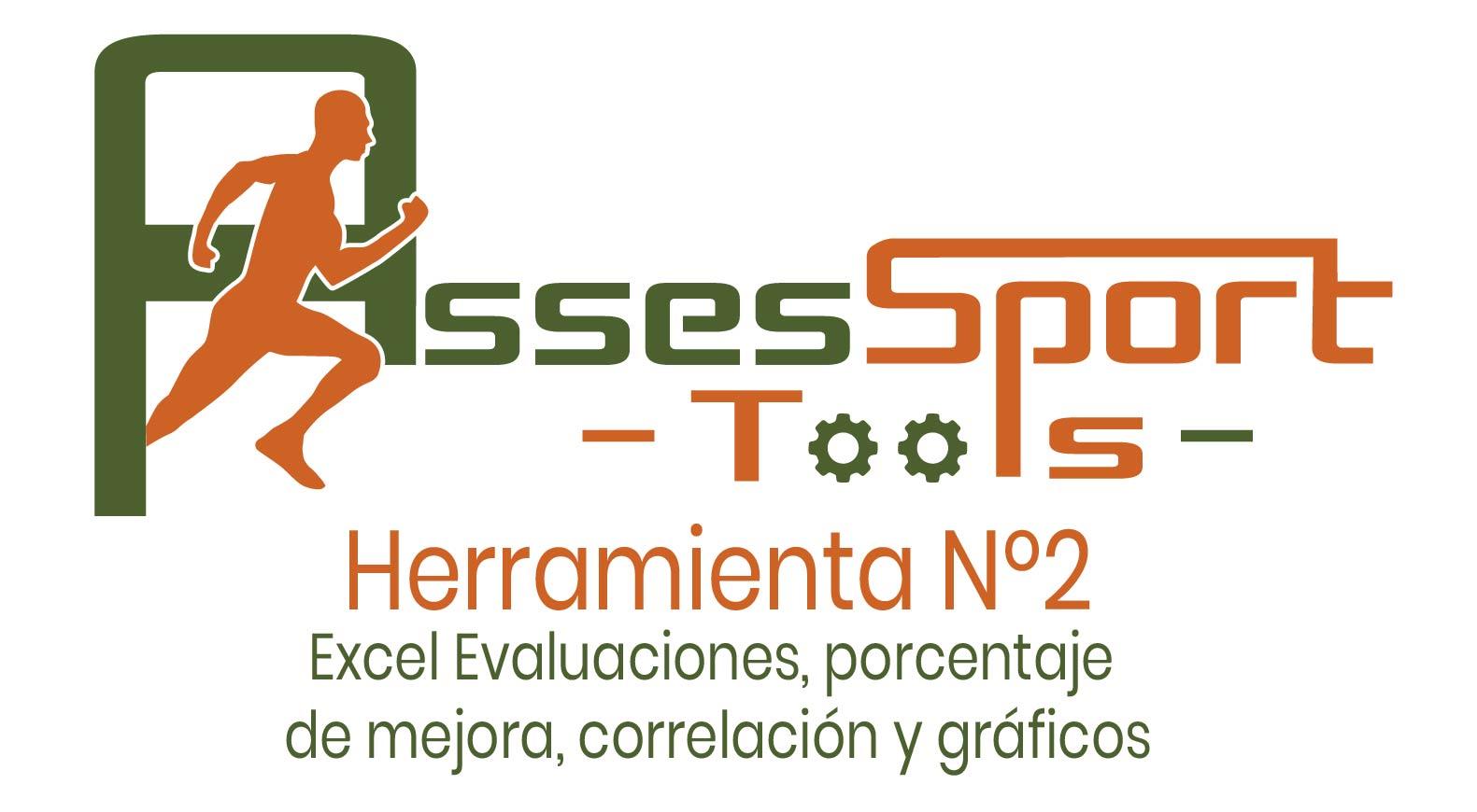 Excel Evaluaciones, porcentaje de mejora, correlación y gráficos | Herramienta Nº2 – Assessport Tools